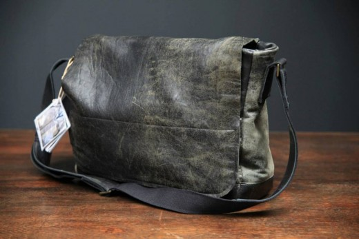 Drew Pritchard Salvage Hunters – Bauhaus Inspired Man Bag HENRY Messenger