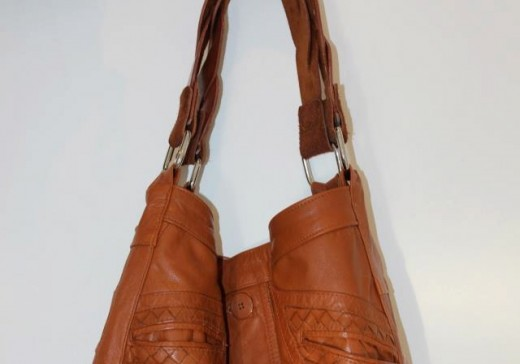 1970's Leather Trench revival Hobo