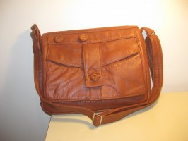 Tan HENRY Laptop/Messenger with Ted Baker Lining