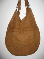 Slouchy FERN Hobo Suede with Cath Kidston Lining