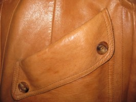 Harrods Leather Coat One Strap LUCY Hobo Bag