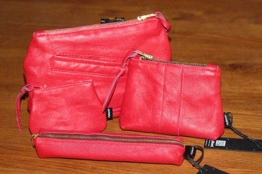 Pencil Cases and Purses from Scrap