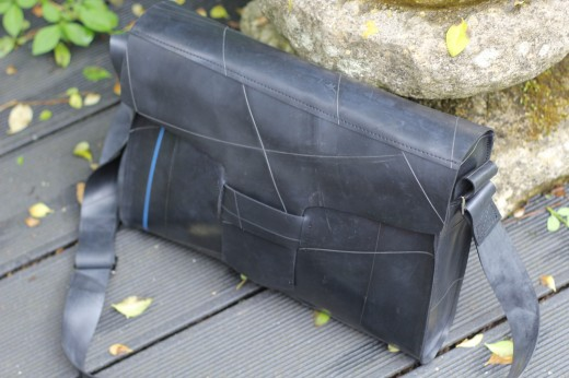 Recycled Bag from Lorry Inner Tube Rubber