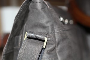Hubby's Versace Leather transformed into fab new work bag for wife's birthday