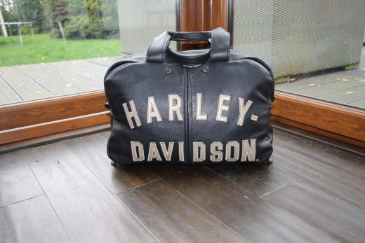 Repurposing Old Harley Davidson Jacket