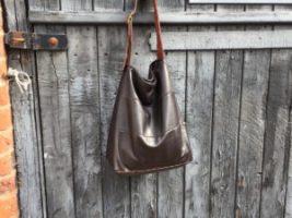 Nicole Farhi Leather Skirt Gets The Chop